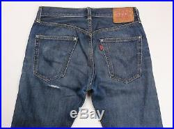 Levis Vintage Clothing LVC Mens 1947 501 Selvedge Denim Jeans 30 x 31
