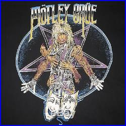 MOTLEY CRUE Shirt Poison KISS Bon Jovi Def Leppard Dokken Ratt Van Halen Kix