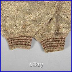 Medium 1920s Mens Pants Plus Sixes Wool Fleck Tweed Knickers Ribbed Knit Vintage