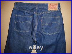 Men's LVC Levi's Vintage Clothing Cone Mills Selvedge 1947 501 XX Jeans 34X32 E5