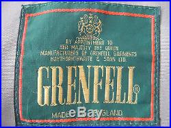 Mens Vintage English British Origina Grenfell Cloth Stone Walker Coat Jacket