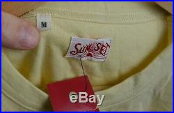 New LVC Levis Mens Vintage Clothing 1920's Sunset Henley 3 Button s/s T-Shirt M