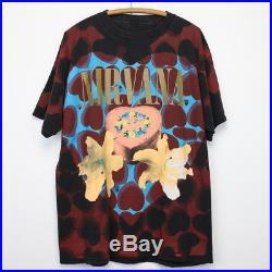 Nirvana Shirt Vintage tshirt 1993 Heart Shaped Box All Over Print Kurt Cobain