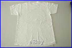 Nirvana T-shirt MTV Unplugged vintage 90s Tee Shirt Medium White Kurt Cobain