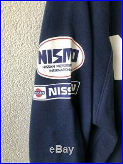 Nismo Old Logo Club Le Mans Sweater Rare Vintage Jacket Apparel R33 GTR R32 RB26