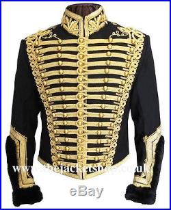 Officers Napoleonic Hussars Uniform Military Tunic Pelisse Jacket