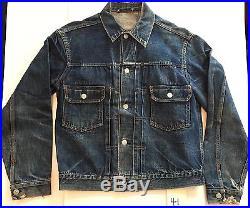 Original Vintage Levi's 507xx 2nd Edition Denim Jacket