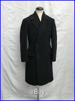 Pre WW2 Coat 1920s Overcoat 1930s Coat Vtg French Coat Sz 36-38 MINT