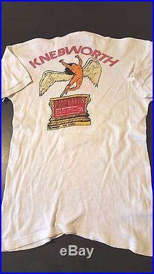 fbbd0f1ad RARE Vintage 70s 1979 Knebworth Festival The Jam Led Zeppelin T-Shirt Rock