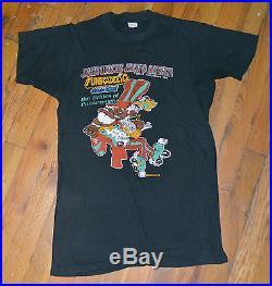 RaRe 1979 PARLIAMENT FUNKADELIC vtg concert shirt (S) P-Funk George Clinton