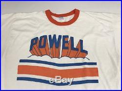 Rare Vintage 70s 80s Champion Powell Bones Powell Peralta Ringer T Shirt Size XL