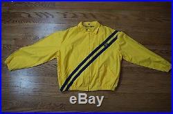 Rare Vintage 80s Polo Ralph Lauren RL RRL 1992 Uni Crest Patch Jacket Size Large