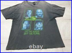 Rare Vintage Summerslam 2001 WWE/WWF XXL 2-Sided Stone cold / the rock T shirt