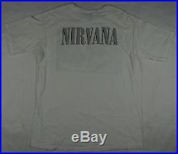 Rare Vintage WILD OATS Nirvana 1996 Grunge Band Photo T Tee Shirt 90s Cobain XL