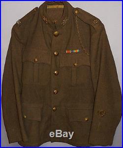 Rare- WWI -Royal Scots- Vintage Canadian Army Decorated Wool Machine Gun Uniform