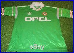Republic of ireland football eire medium mans rare vintage 1988 adidas home top