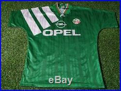 Republic of ireland football eire medium mans rare vintage 1992 adidas home top