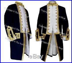 Royal Captains Frock Coat Naval Uniform 1774