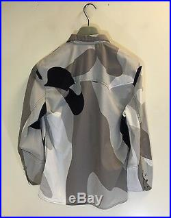 Stephen Sprouse 1987 Andy Warhol Camo Western Pearl Snap Shirt Medium