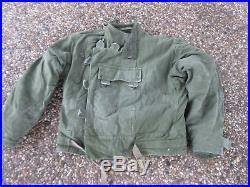 True Vintage Jacket Motorrad Jacke Canvas 18OZ Motorcycle Biker Army Heritage 50