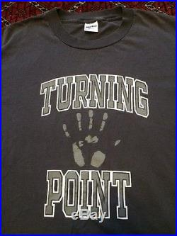 Turning Point vintage 90s Its Always Darkest T Shirt XL Youth Of Today Cro Mags