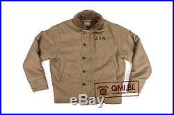 US Navy N-1 Deck Jacket (Khaki)