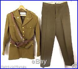 Uniforme Militaire Officier Americain U. S Army date 1938