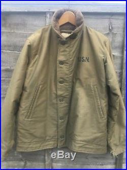 Us Navy type N-1 Deck Jacket, WW2 1950S USN