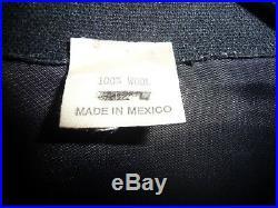 VINTAGE 80's WESTERN STYLING MARIACHI WOOL JACKET LA ROCKA LOS LOBOS HAVANNA 3AM