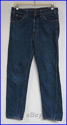 Vintage Levis Denim Jeans Big E Orange Tab Indigo Mens Womens Unisex 30 X 27