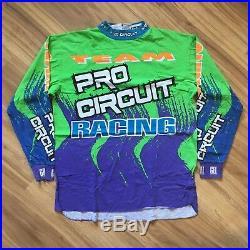 VTG 90s Axo Sport Pro Circuit Peak Jeremy McGrath Era MotoCross Jersey SZ XL