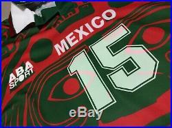 VTG Mens 1997 1998 ABA Sport Mexico 3rd Jersey Sz M Soccer Futbol Chivas America
