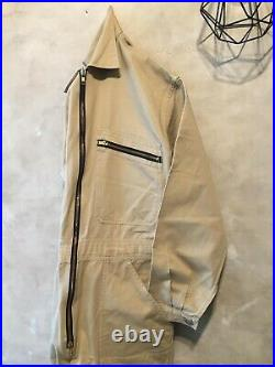 VTG Workwear Men Chore BOILERSUIT COVERALLS OVERALL M Jumpsuit Work Pant French