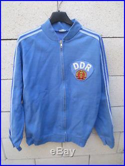 Veste ADIDAS RDA DDR Jacket Jacke Ventex 70er 70'S tracktop football vintage L