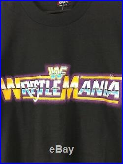 Vintage 1985 Wwf Wrestlemania 1 T-shirt Size XL Wrestling Nos Wwe Wcw Nyc