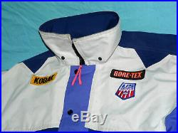Vintage 1990 GORE-TEX USA US Ski Team USST World Cup JACKET Men's Medium