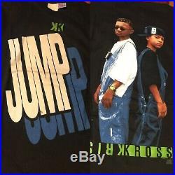 Vintage 1990s Kris Kross T-Shirt Jump Jump concert Tour hip hop Rap XL Shirt