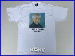 Vintage 1995 Nirvana Kurt Cobain Child Memorial T-Shirt Giant XL Tultex Unworn