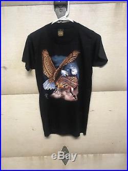 Vintage 3D Emblem Harley Davidson T Shirt Size M