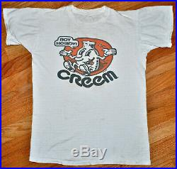 Vintage 70s 1972 CREEM Magazine Boy Howdy! R. CRUMB Rock Concert T SHIRT Derby S