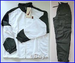 Vintage 90's NIKE SUPREME COURT Tennis Tracksuit Pete Sampras Jacket Pants NEW M