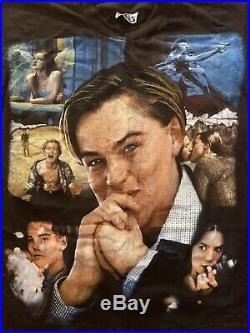 Vintage 90's Romeo And Juliet Movie Rap Hip Hop Tour T-Shirt Leonardo DiCaprio