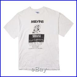 Vintage 90s Nirvana Melvins Beat Happening T-shirt, Size L