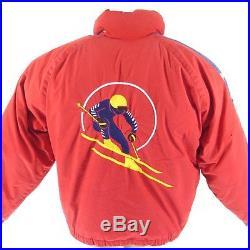 Vintage 90s Ralph Lauren Ski Jacket M Men Suicide Skier Cookie Stadium 1992