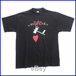 Vintage 90s Sebadoh More Science for More Science High T-shirt Kurt Cobain
