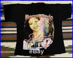 Vintage 90s Selena Rap T-Shirt ULTRA RARE DISTRESSED (XL)