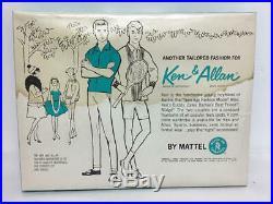 Vintage Barbie Ken & Allen Outfit #1425 Best Man Nrfb