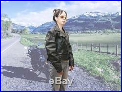 Vintage Cal-Leather Horsehide LAPD Motorcycle Jacket