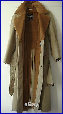 Vintage English Mens Original Grenfell Cloth Cotton Raincoat Coat ...