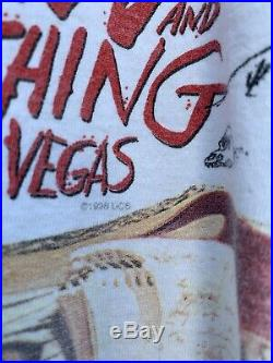 Vintage FEAR AND LOATHING IN LAS VEGAS movie promo t shirt Sz L